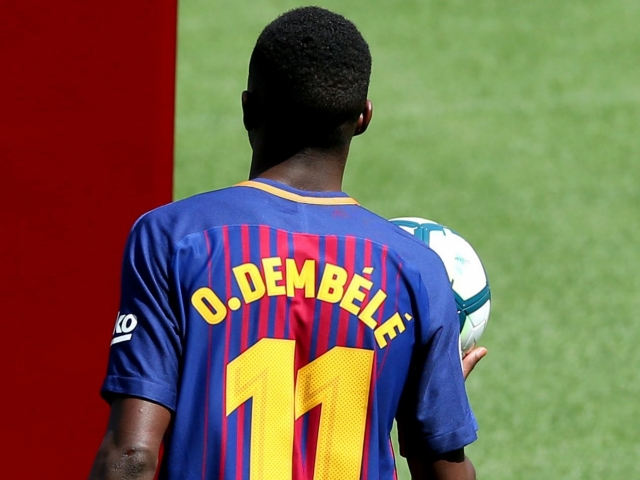 Barcelona gave courage to the injured Dembele