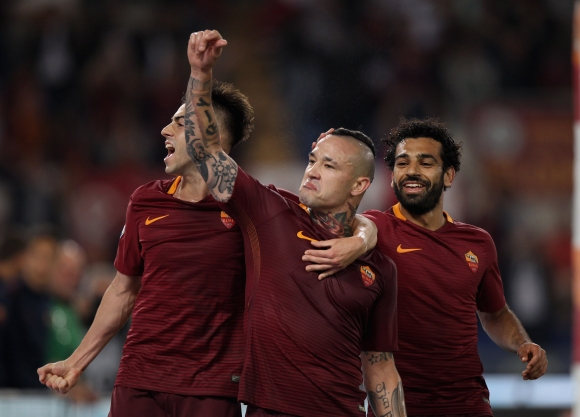 Nainggolan had commented why he stayed at Roma