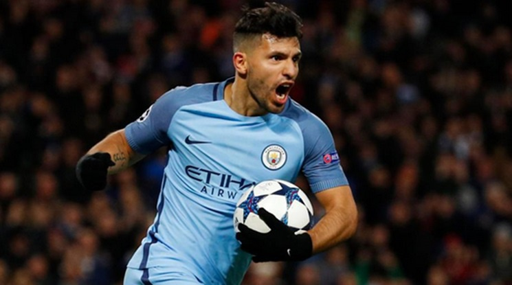 City will be without Aguero for a month