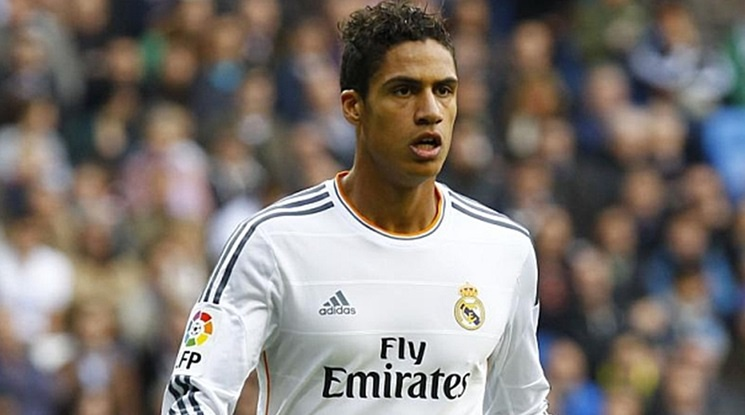 Varane extended his contract with Real Madrid