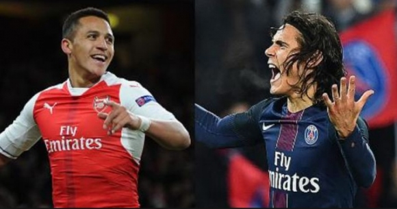 PSG is going to replace Cavani with Sanchez