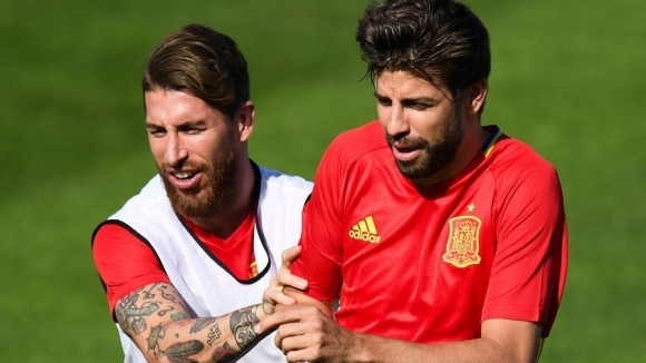 Ramos: 'My relations with Pique are very good!'