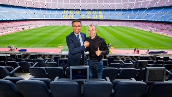 Iniesta about Barcelona: 'Nowhere else I'd feel better!'