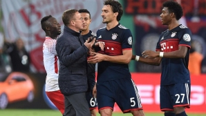 Hummel has almost struggled with the Leipzig boss - that`s why
