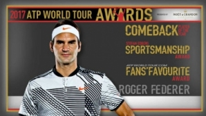 Federer with three awards for the incredible year