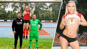German amateurs did not get them with a porn actress
