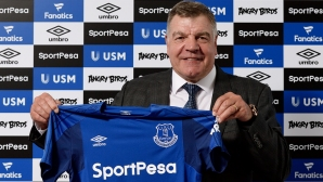 Everton officially announced Sam Allardyce