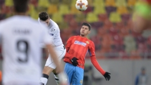 Steaua fell to Bucharest and took the first place