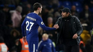 Conte compares Christensen with Terry
