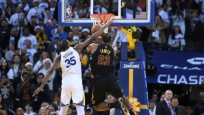 On Christmas Day Warriors subdued Cavaliers in a repeat of the NBA Finals