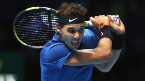Rafael Nadal goes on a demo tournament in Melbourne