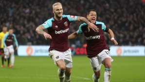 West Ham moved away from the danger zone, the debut of the Eura did not take place