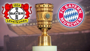 Bayern meets Bayer Leverkusen for the Cup