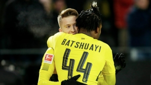 Royce also does not want Batman to leave Dortmund