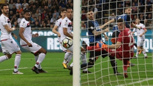 Inter came third after fighting over Cagliari