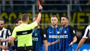 The media in Italy jumped to Inter-Juventus` chief referee