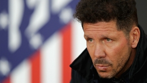 Reactions of Diego Simeone and his son at the goal of Grizzman