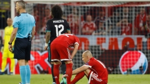 Arien Robben dropped out of Madrid for revenge