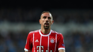Ribery has announced his new contract and hastily deleted the post