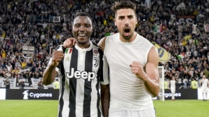 Asdamo Square announced he was leaving Juventus