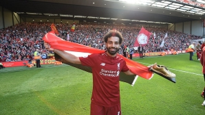 Salah won another prize, with 89% of the vote