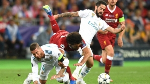 Klap attacked Ramos for the injury of Salah from the WS final