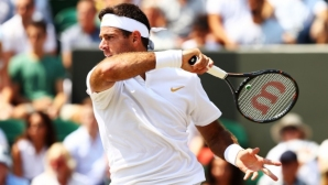 Del Potro breaks records, Randon goes on