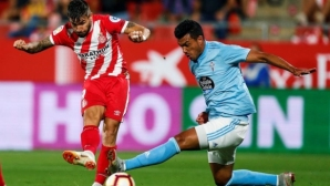 Girona wins and catches Celta