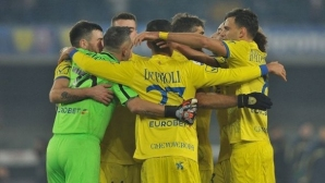 At last!  Chievo waited for her first victory