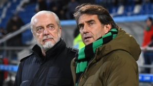 The president of Napoli jumped on UEFA because of the match with Barcelona
