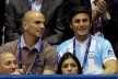 Zanetti and Kambiaso watch World volleyball before derby with Juventus