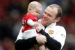 United's stars attended the first birthday of Kay Rooney