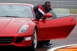 Bolt test cars of Ferrari
