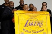Lakers get away with the White House, Obama and Bryant gave to charity