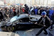 PHOTOS: smudged with hammers sports car for 407 285 leva in protest