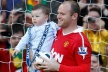 PHOTOS: Kai bearable medals Rooney, Giggs dad in the arms of her kids