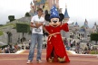 PHOTOS: Nadal celebrated his victory at Disneyland