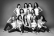 Surprise: Levski and the finalists for Miss Bulgaria in 2011 together at camp