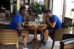 Green Serzhinyo game birthday Yovov chess, drawing teams of beer