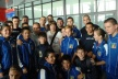 Young hopes of gold Stanka Levski met at the airport